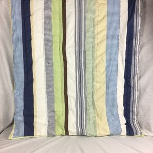 Multicolored Pottery Barn Kids Reversible Quilt